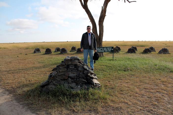 Cementerio de Rinocerontes - OL Pejeta, Kenia