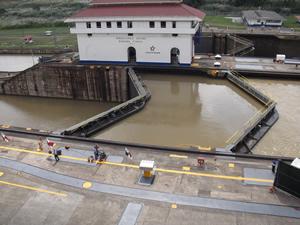 Canal de Panama - Esclusas Miraflores